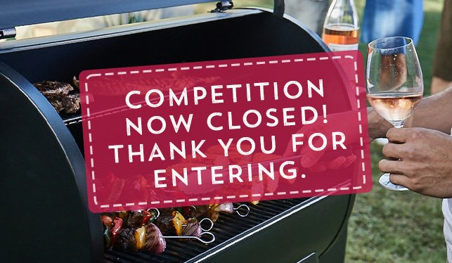 $1,000 to spend at BBQ Galore competition closed