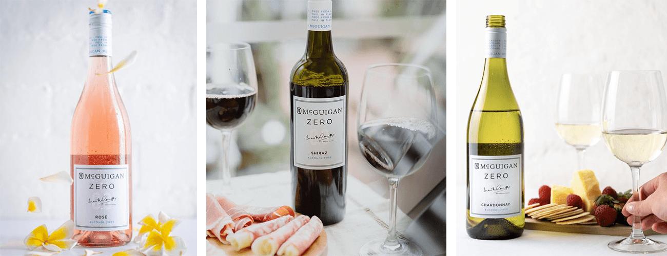 McGuigan Zero Rose, Shiraz and Chardonnay bottle image